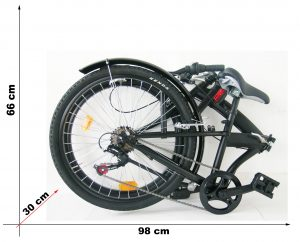 bici pieghevole 24 girardengo