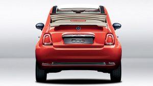 FIAT 500 C arancione promo