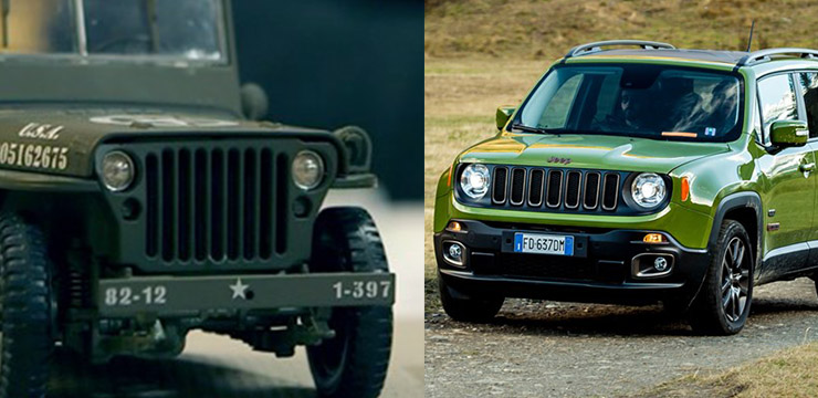 jeep renegade a confronto