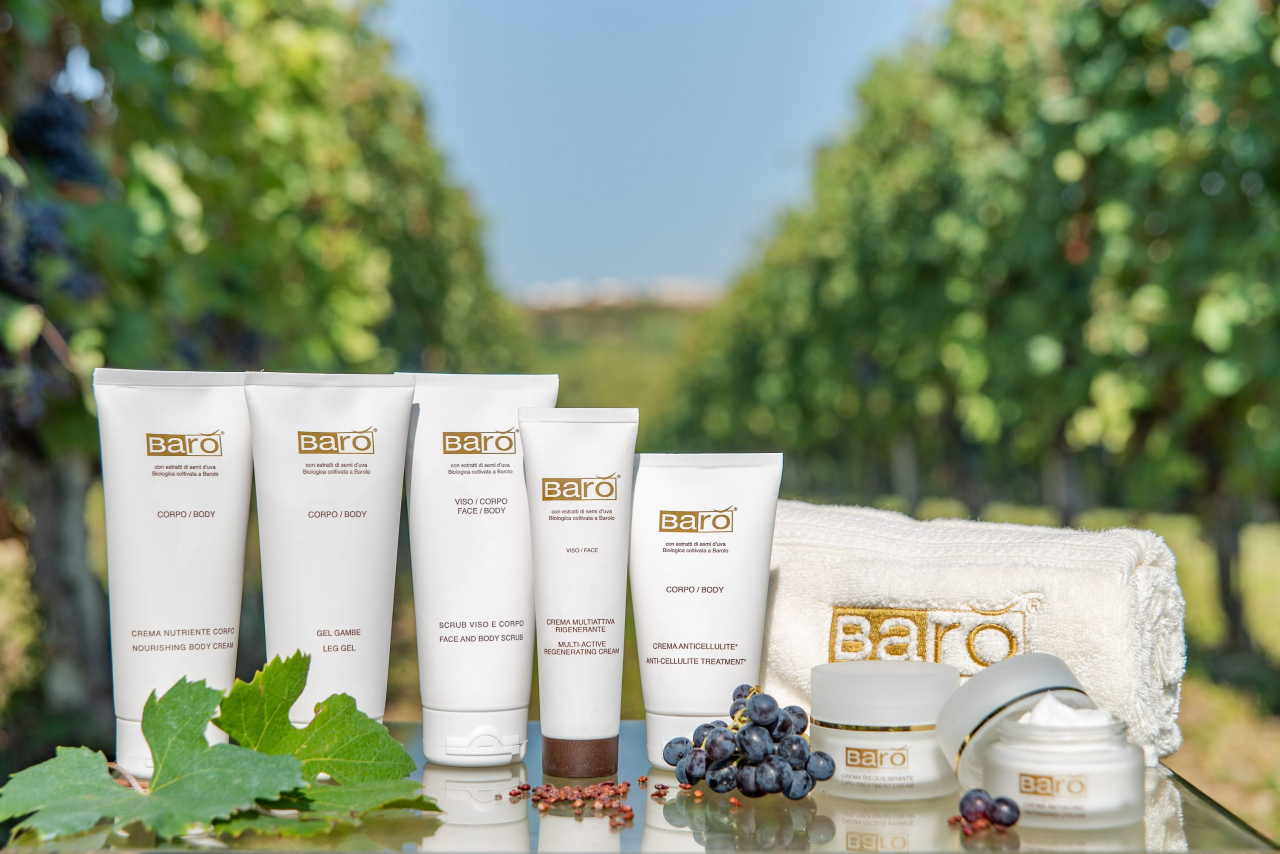 Prodotti Barò Cosmetics