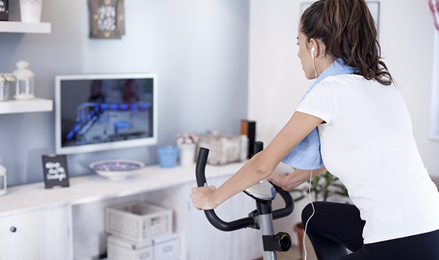 Cyclette per home fitness