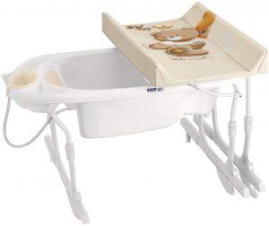 fasciatoio neonato con vaschetta