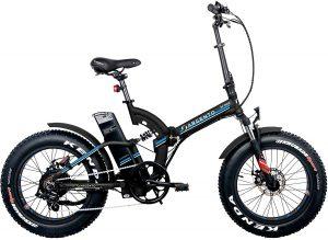 bicicletta con pedalata assistita modello argento