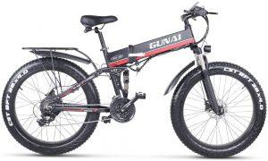 bicicletta con pedalata assistita modello gunai