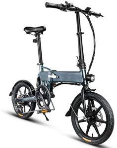 bicicletta con pedalata assistita epac