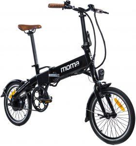 bicicletta con pedalata assistita modello moma