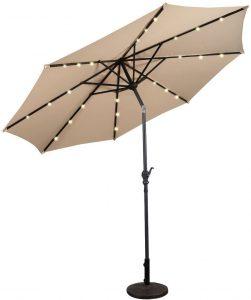 ombrellone da giardino luci a led