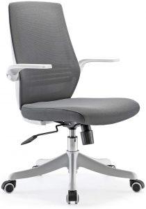 sedia da ufficio schienale regolabile