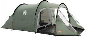 tenda da campeggio con cuciture nastrate