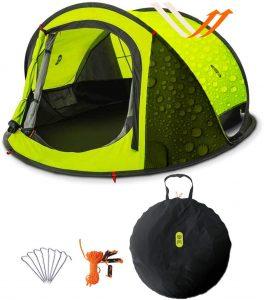 tenda da campeggio capienza due persone